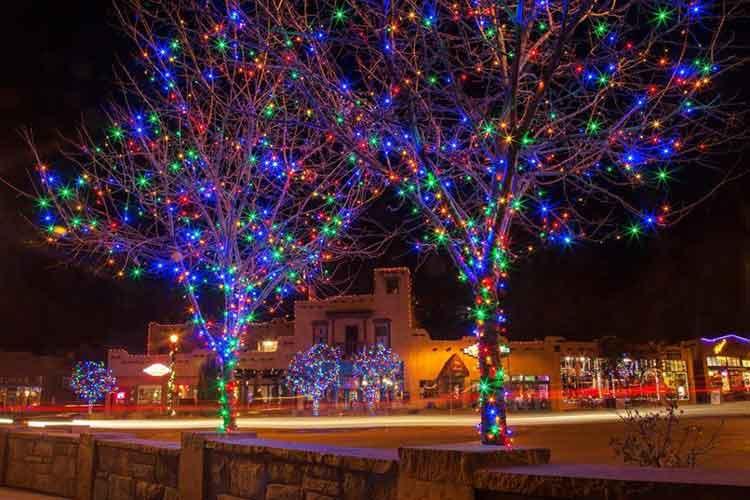 Manitou Springs Christmas Lights