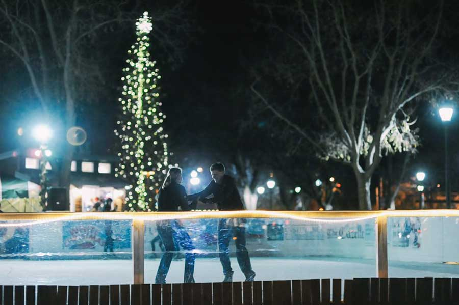 Holiday Stroll Downtown Colorado Springs