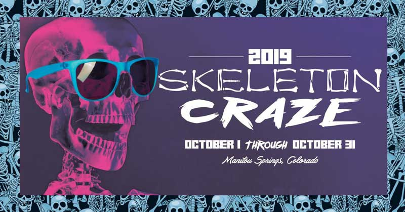 2019 Skeleton Craze in Manitou