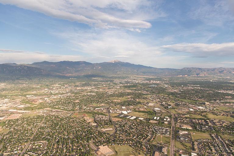 colorado springs hot air ballon shot