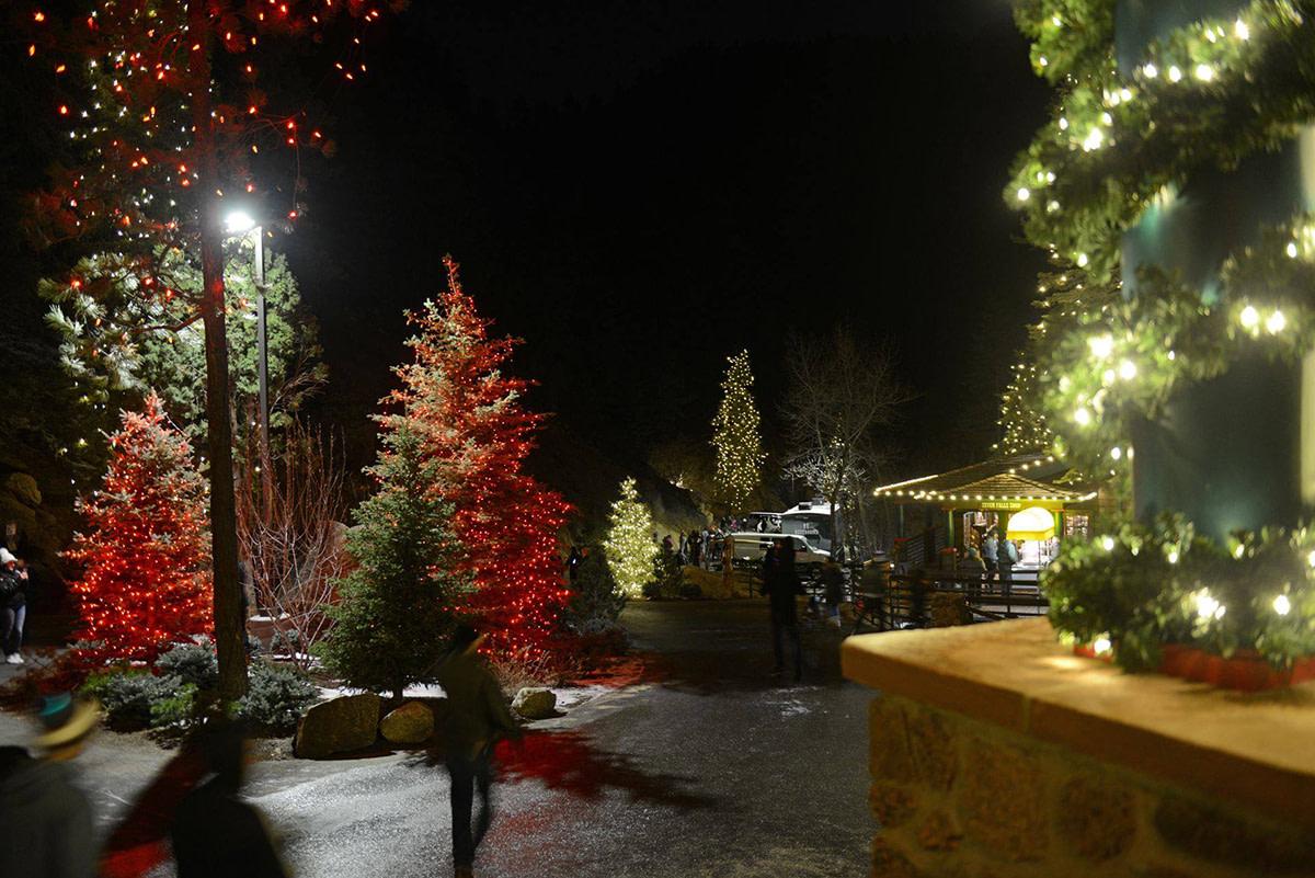 Christmas Lights Around Colorado Springs