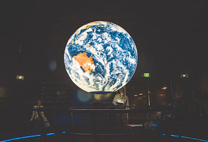 space foundation discovery center earth sphere