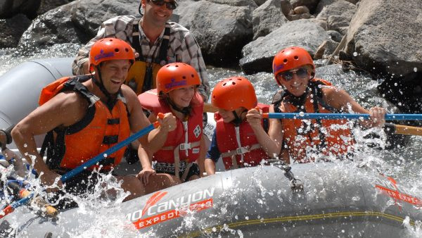 Rafting with Echo Canyon River Expeditions