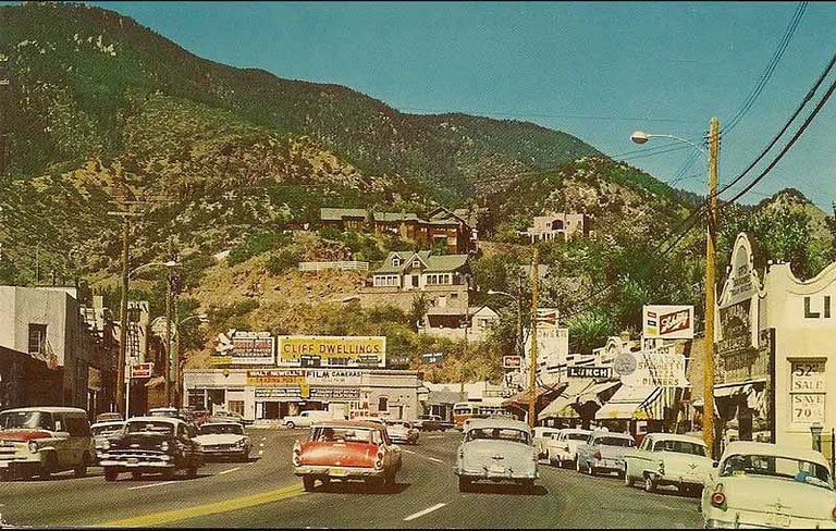 Manitou Springs in the 1950's