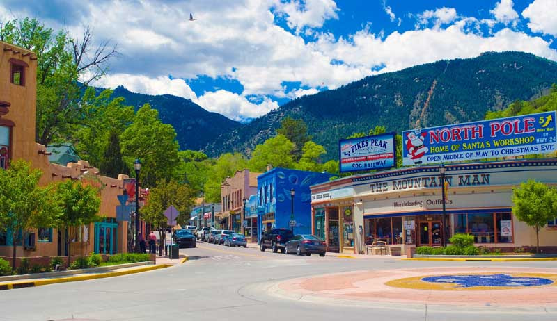 manitou springs round about
