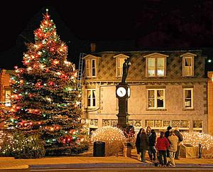 Manitou Springs Christmas tree