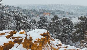 palmer park snow