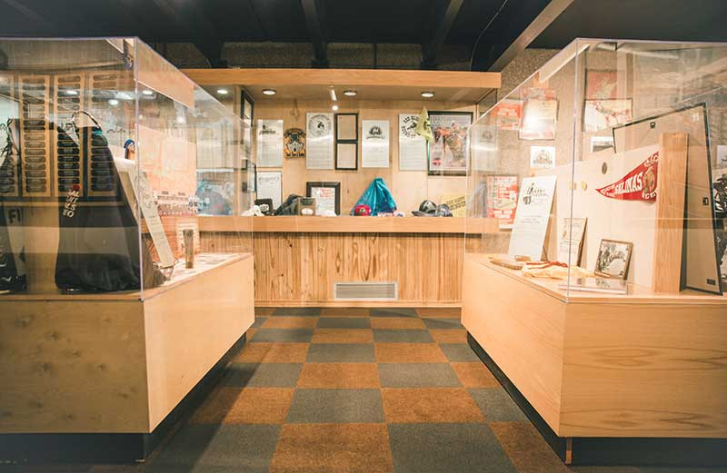 ProRodeo Hall of Fame cases