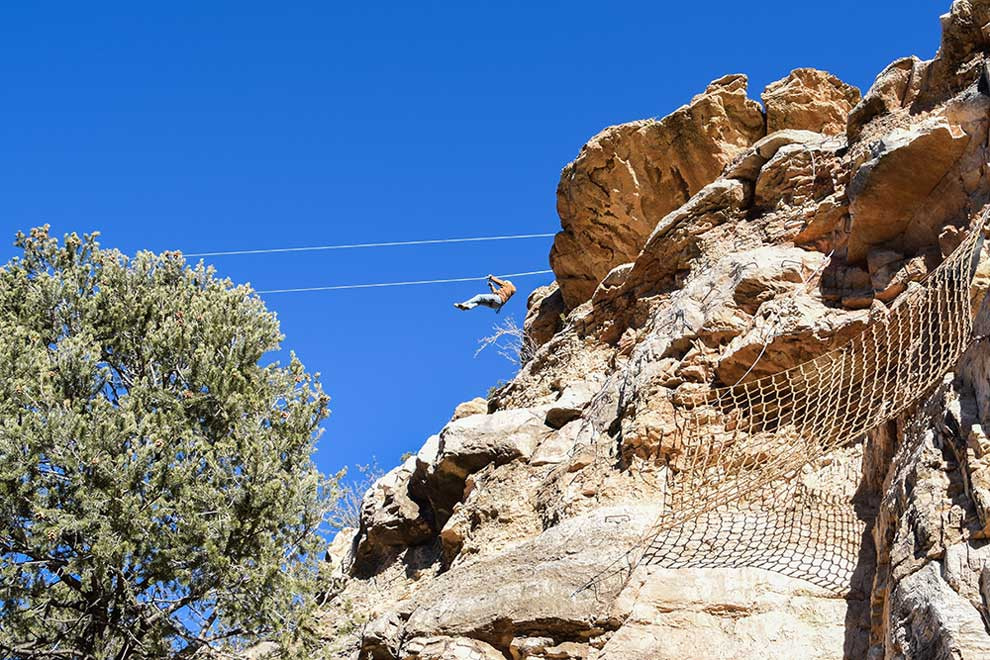 cave of the winds mountain park zip line tour