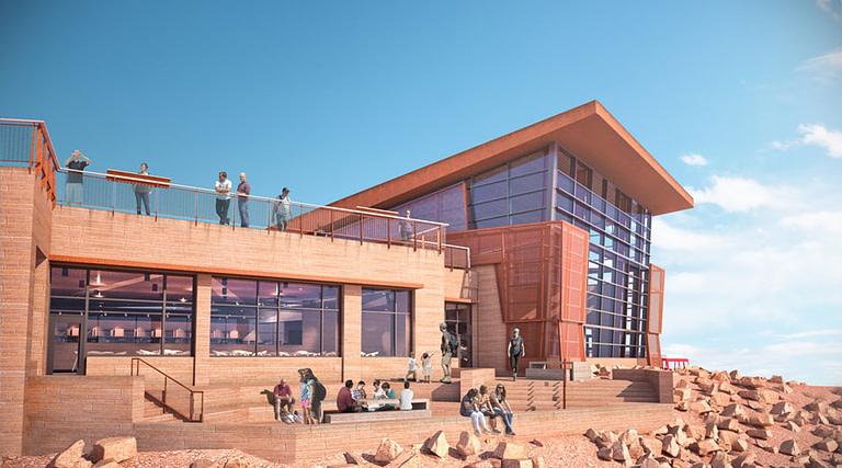 Pikes Peak Summit House Rendering