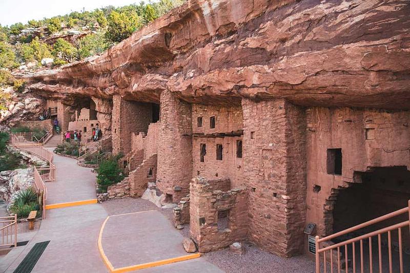 manitou cliff dwellings outside view
