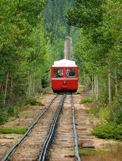 Manitou Springs - Pikes Peak Cog Railway