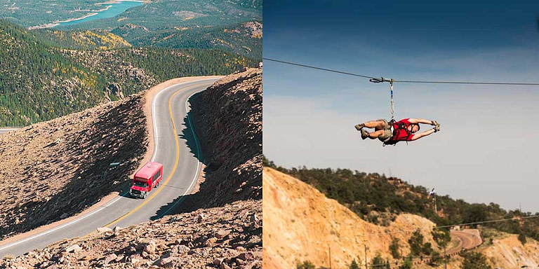 adventures out west and pikes peak tour by gray line