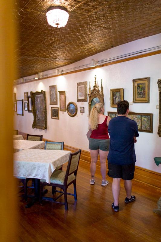 miramont castle gallery wall