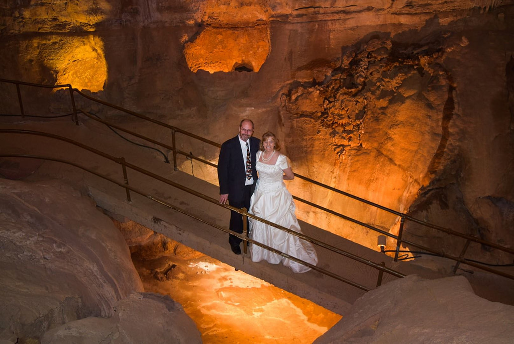 Cave of the Winds Wedding