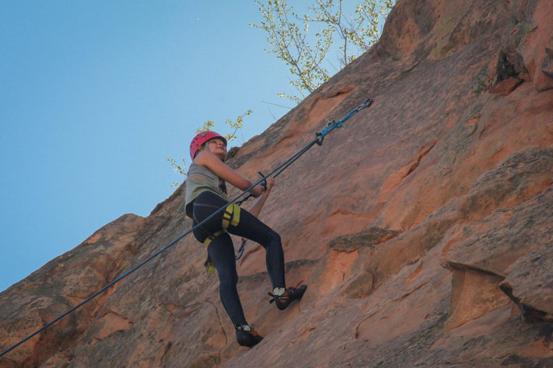 broadmoor outfitters rock climbing