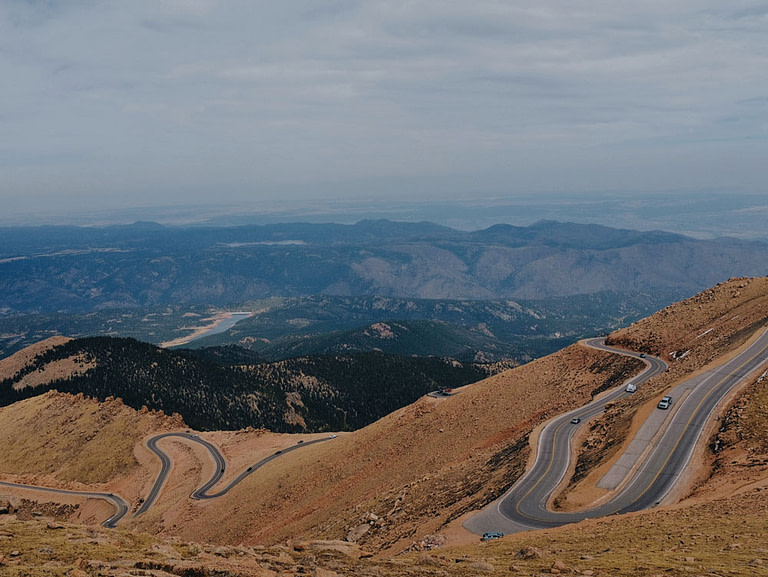 pikes peak highway road