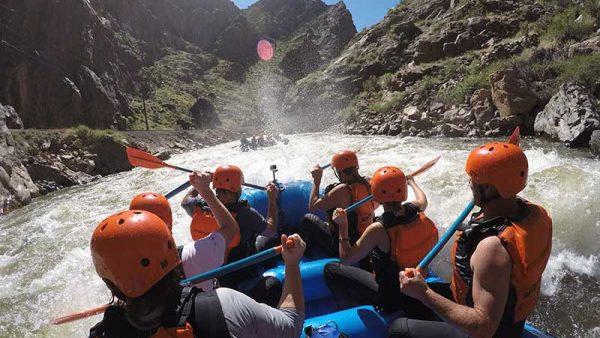 echo canyon rafting