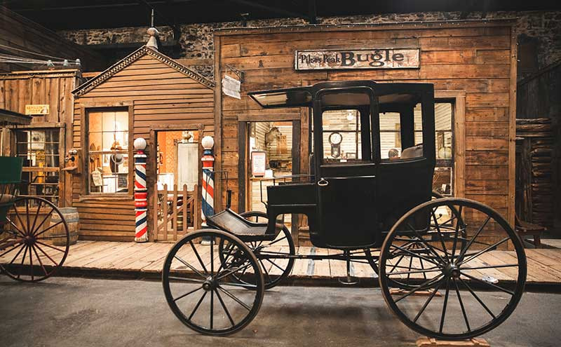 Ghost Town Museum Carriage