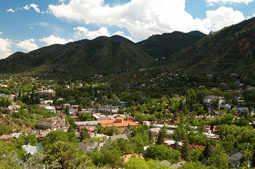 View of Manitou Springs