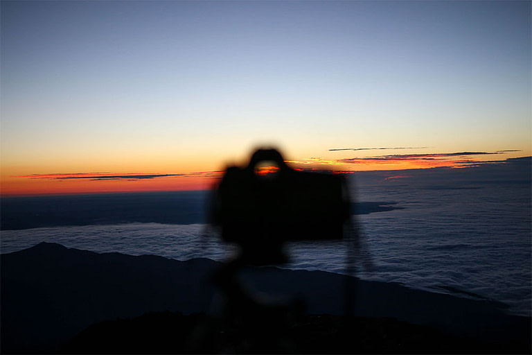 Pikes peak sunrise camera stand