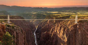 Royal Gorge Park Sunrise