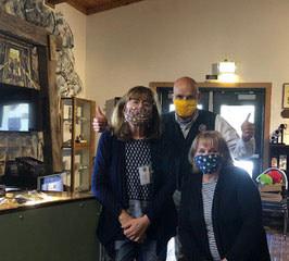 Western Mining Museum ---masks