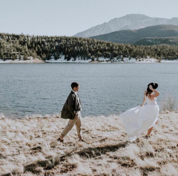 Pikes Peak wedding