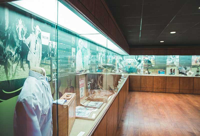 prorodeo exhibit case