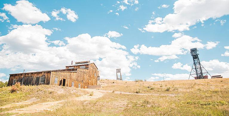 western mining museum barn