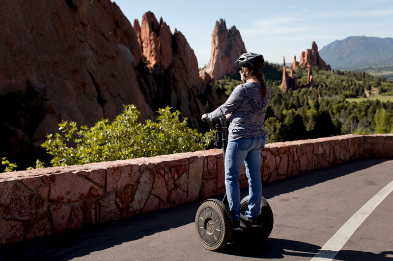 adventures out west segway in garden of the gods