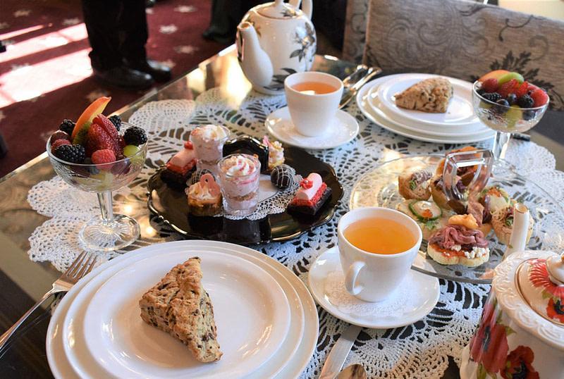 miramont castle high tea