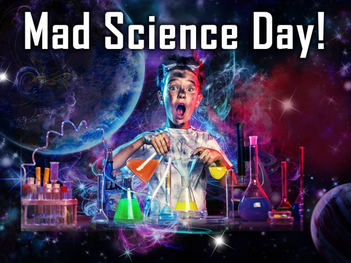 space foundation mad science day