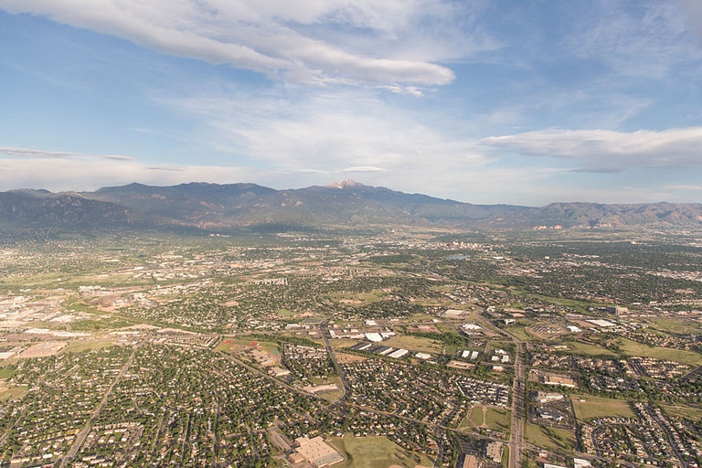 colorado springs hot air ballon shot