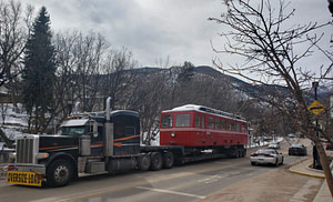 Pikes-Peak-Cog-Railway-train-on-truck