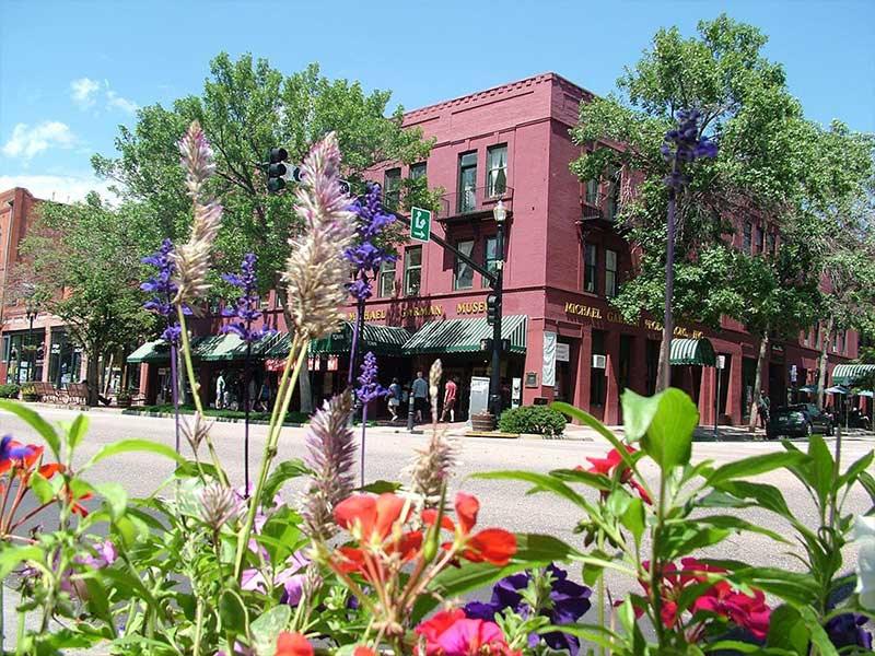 Old Colorado City in summer