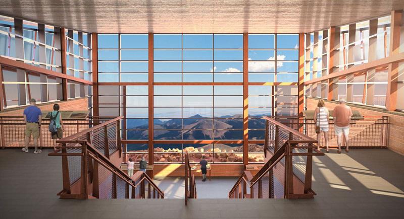 summit house rendering inside