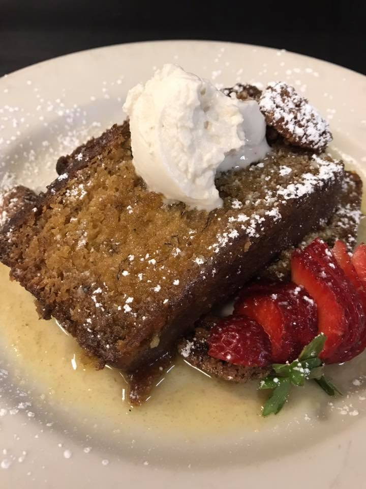 Adams Mountain Cafe Sticky Toffee Pudding