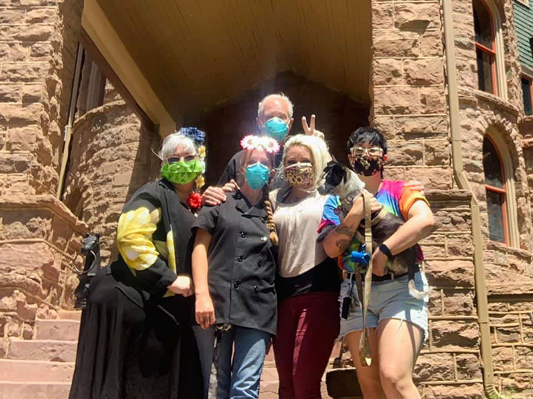 miramont castle employee masks