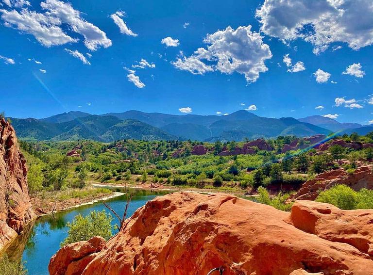 red rock open space in colorado springs