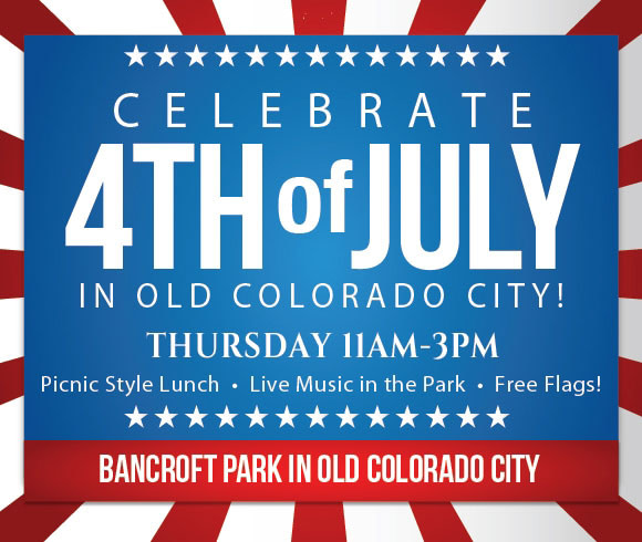 old colorado city 4th of july poster