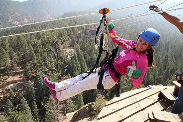 broadmoor soaring adventure zip line